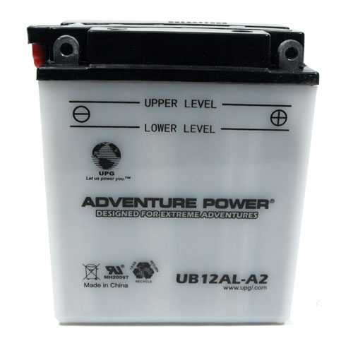 YB12AL-A2 12 Volt 12 Amp Hrs Conventional Power Sport Battery