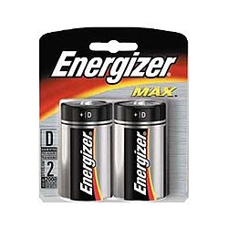 Energizer Max D Batteries  8-Count + Free Shipping