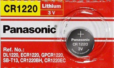 Panasonic CR1220 3V Lithium Coin Battery