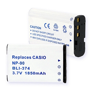 CASIO NP-90 LI-ION 1850mAh Digital Battery
