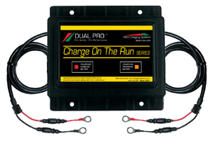 12 Volt One Bank Engine Output Charge On The Run Series