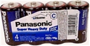 Panasonic Super Heavy Duty C Size Battery - 288 Pack + FREE SHIPPING!