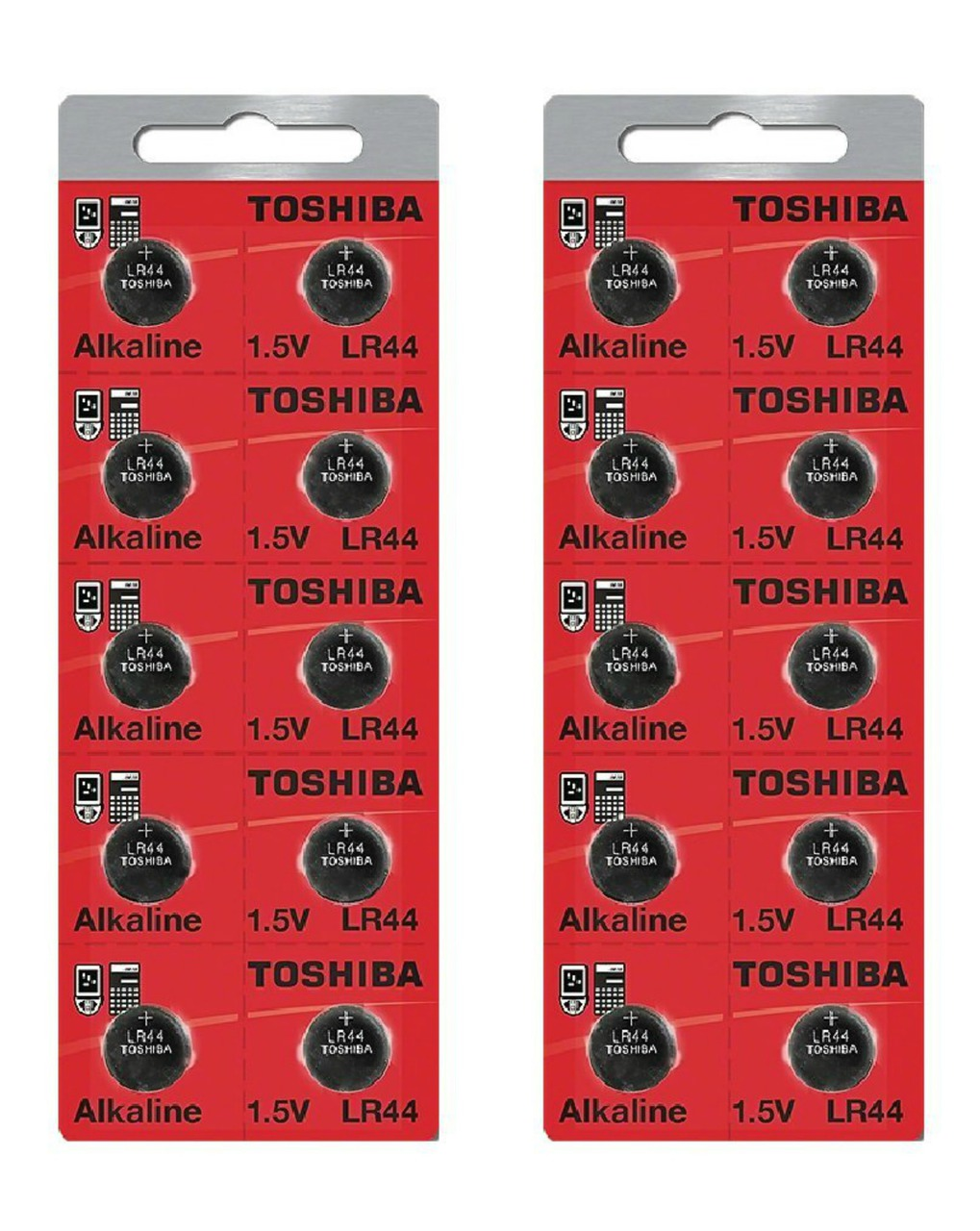 Toshiba LR44 - A76 Alkaline Button Battery 1.5V - 20 Pack + FREE SHIPPING!