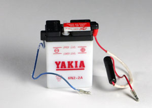 6 Volt 2 AMP Motorcycle And Power Sport Battery (6N2-2A)