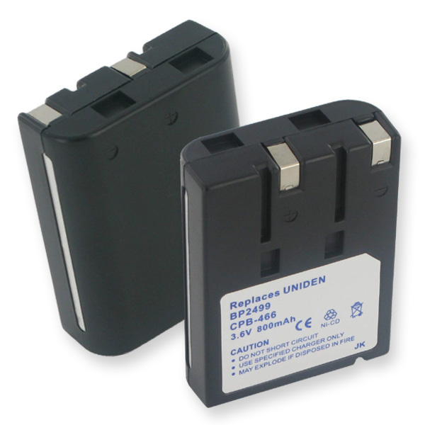 UNIDEN BT990 NCAD 800mAh CORDLESS BATTERY + FREE SHIPPING