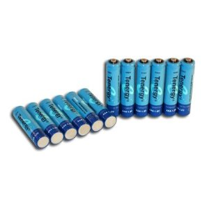Tenergy 2600mAh AA 1.2V NiMH Rechargeable Batteries - 8 Pack + FREE SHIPPING!