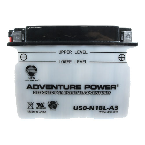 Y50-N18L-A3 12 Volt 20 Amp Hrs Conventional Power Sport Battery
