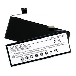 APPLE IPHONE 5S 616-0652 3.8V 1570mAh LI-POL BATTERY (T) + FREE SHIPPING
