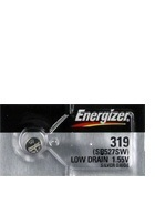 Energizer 319 - SR527 Silver Oxide Button Battery 1.55V