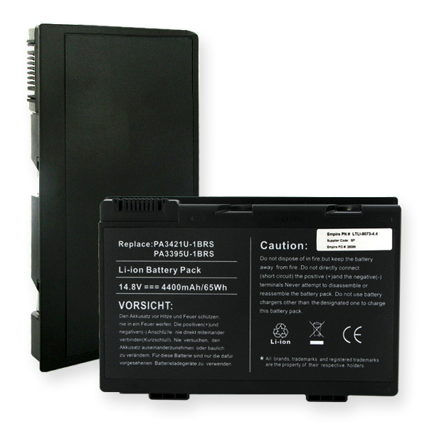 TOSHIBA 14.8V 4400mAh Li-ION Laptop Battery