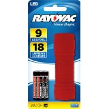 Rayovac Value Bright 9 LED Mini Flashlight - Batteries Included + FREE SHIPPING!