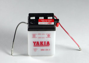 6 Volt 4 AMP Motorcycle And Power Sport Battery (6N4-2A-3)