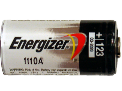 Energizer EL123A CR123A 3 Volt Photo Lithium Battery 4 Pack + FREE SHIPPING