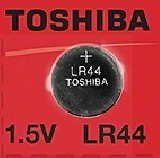 Toshiba LR44 - A76 Alkaline Button Battery 1.5V