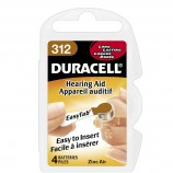 Duracell Activair Hearing Aid Batteries Size 312 - 20 Wheels Of 6 + FREE SHIPPING!