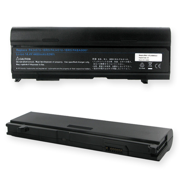 TOSHIBA 14.4V 4400mAh Li-ION Laptop Battery