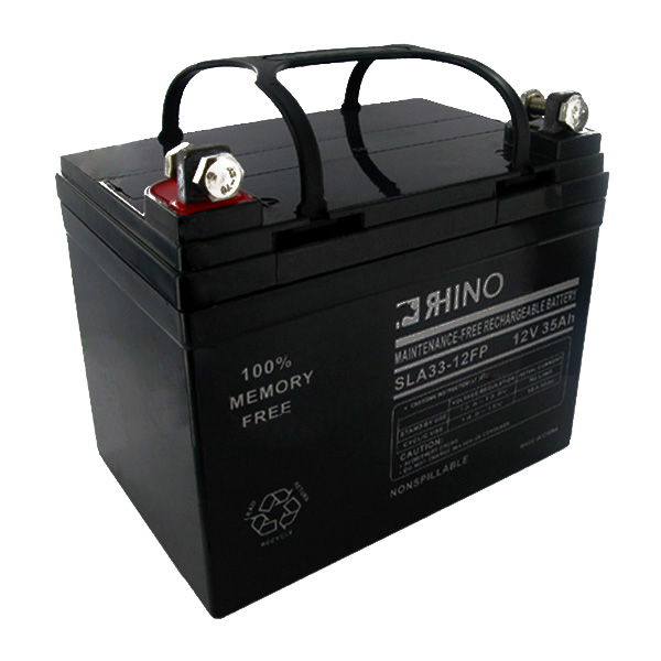 Sealed Lead Acid Battery 12 Volt 35 Amp Hour(Flag Connectors)