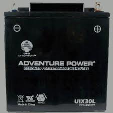 YIX30L 12 Volt 30 Amp Hrs Sealed AGM Power Sport Battery