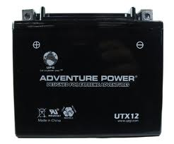 YTX12-BS 12 Volt 10 Amp Hrs Dry Charge AGM Power Sport Battery