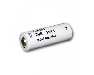 206A Alkaline 9V Battery NEDA 1611  H-7D  H-6D Fits Eveready 206 + FREE SHIPPING