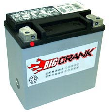 Big Crank  ETX14 12AH 12 Volt  Battery
