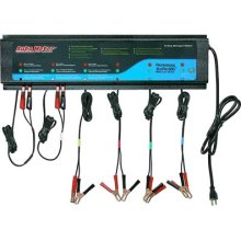 6 CHANNEL AUTOMATIC 12 VDC BATTERY CHARGING STATION