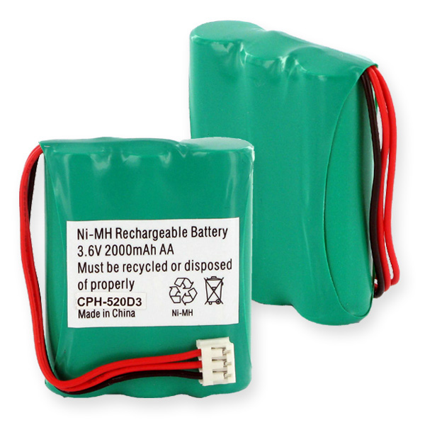G.E. And RCA 5-2699 NiMH 2000mAh Cordless Battery
