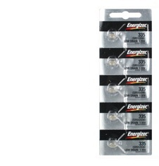 Energizer 335 - SR512 Silver Oxide Button Battery 1.55V - 50 Pack + FREE SHIPPING!