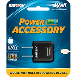 Rayovac Universal USB AC Wall Charger + FREE SHIPPING!