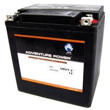 66010-97B / YIX30L 12 Volt 30 Amp Hrs Sealed AGM / V-Twin Heavy Duty Power Sport Battery