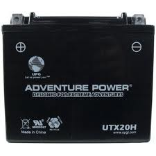 YTX20H-BS 12 Volt 18 Amp Hrs Dry Charge AGM Power Sport Battery