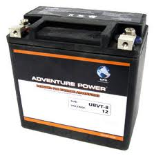 65948-00 / YTX14-BS 12 Volt 12 Amp Hrs Sealed AGM / V-Twin Heavy Duty Power Sport Battery