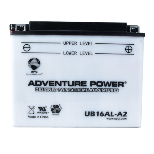 YB16AL-A2 12 Volt 16 Amp Hrs Conventional Power Sport Battery