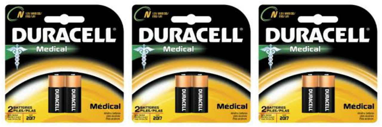 Duracell Medical E90 N Size 1.5V LR1 - 6 Pack + FREE SHIPPING!