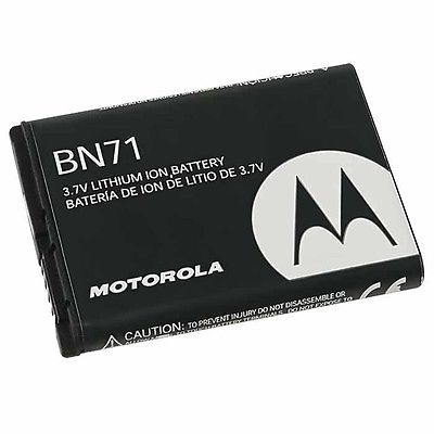 Motorola BN71 Battery For Barrage V860 Hint QA30 Quantico W845 I856 Debut + FREE SHIPPING