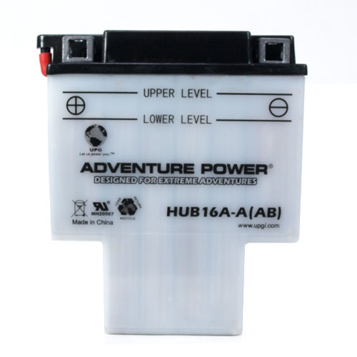 HYB16A-AB 12 Volt 16 Amp Hrs Conventional Power Sport Battery