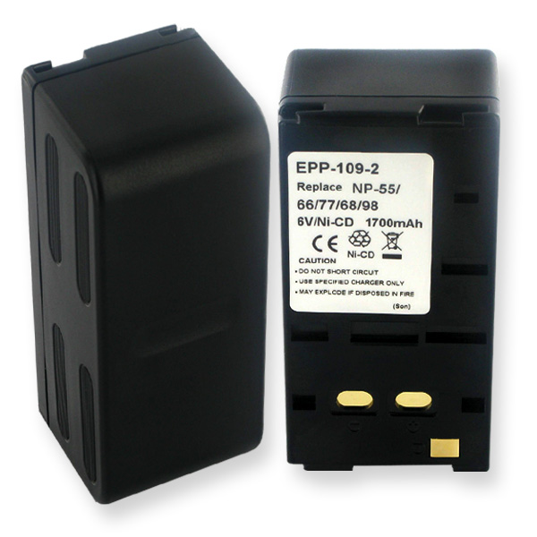 SONY NP-66 NCAD 2.0Ah Video Battery