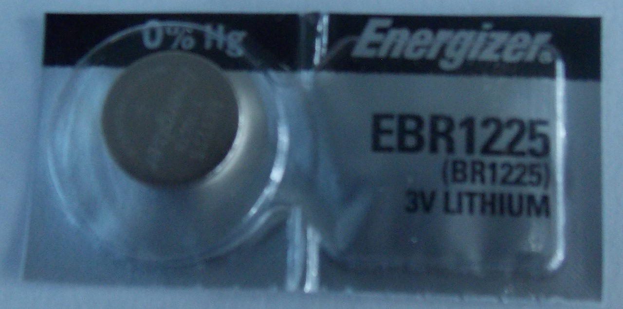 Energizer CR1225 3V Lithium Coin Battery