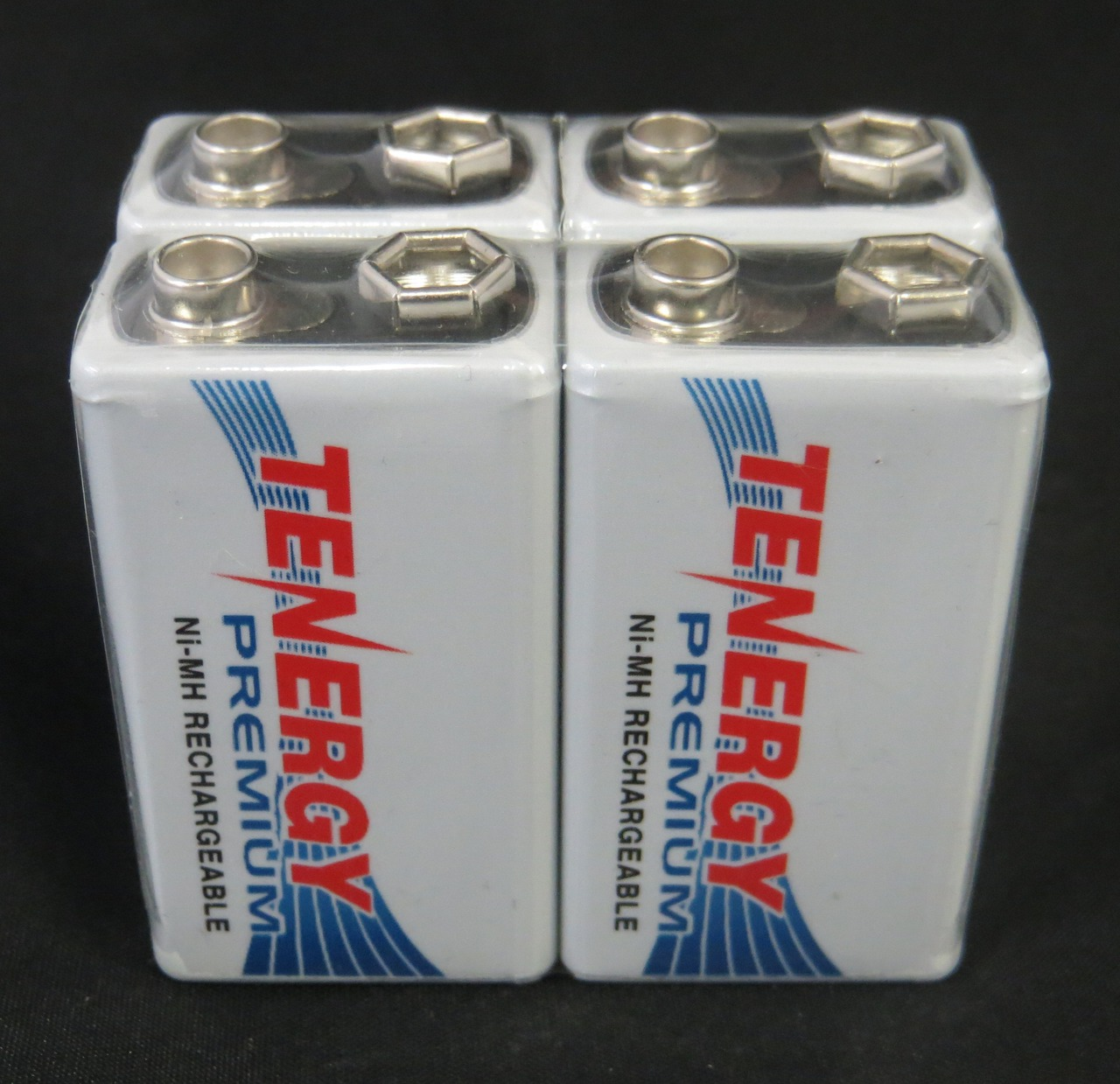 Tenergy Premium 9V NiMH 200mAh MAh Rechargeable Batteries - 8 Pack + FREE SHIPPING!