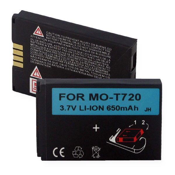 MOTOROLA T720 LI-ION 650mAh Cellular Battery