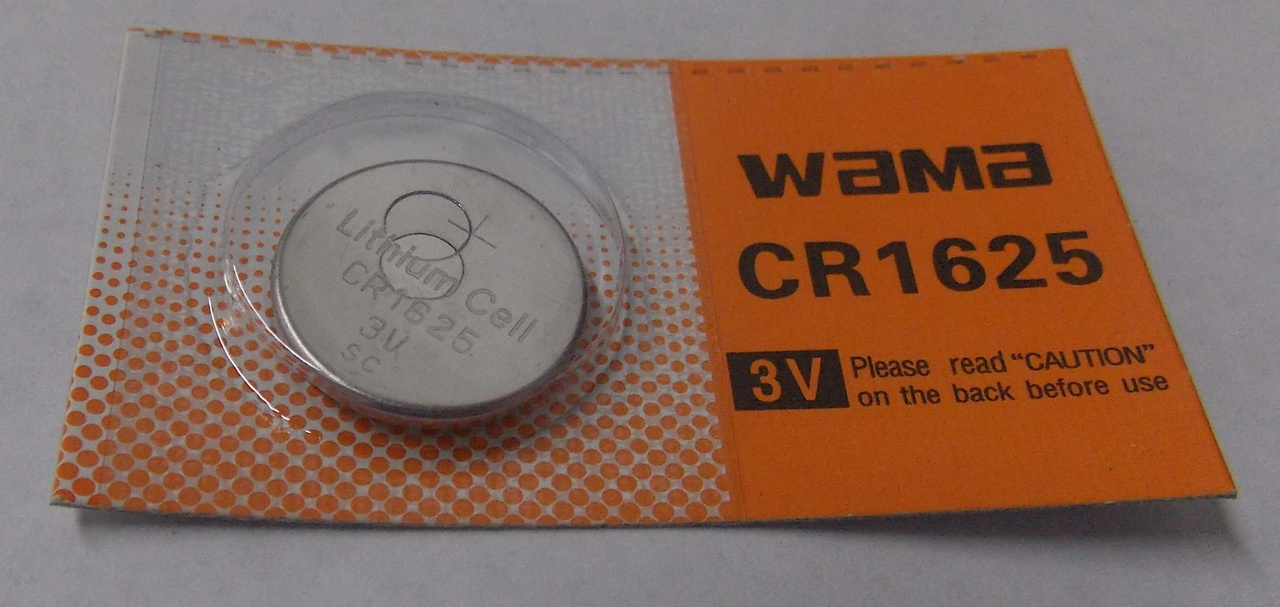 BBW CR1625 3V Lithium Coin Battery
