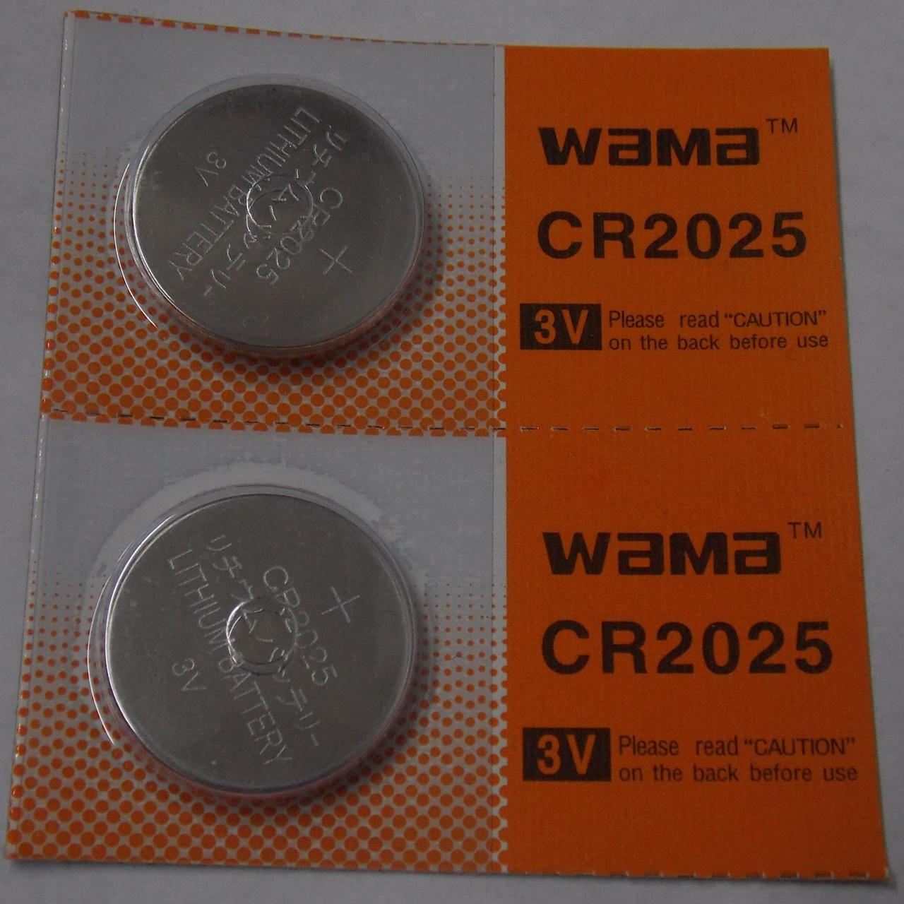 BBW CR2025 3V Lithium...