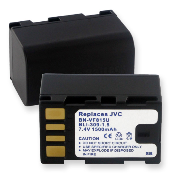 JVC BN-VF815/915 LI-ION 7.2V 1500mAh VIDEO BATTERY + FREE SHIPPING