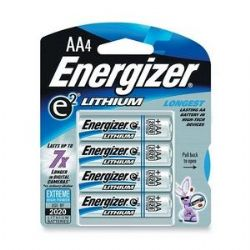 Energizer L91 AA Lithium Batteries 1.5V - In Retail Packaging 16 Pack + FREE SHIPPING