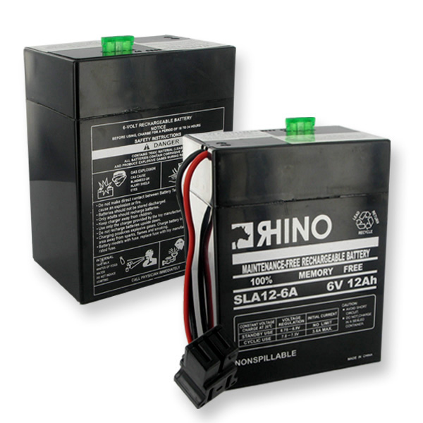 Sealed Lead Acid Battery 6V 12Ah*