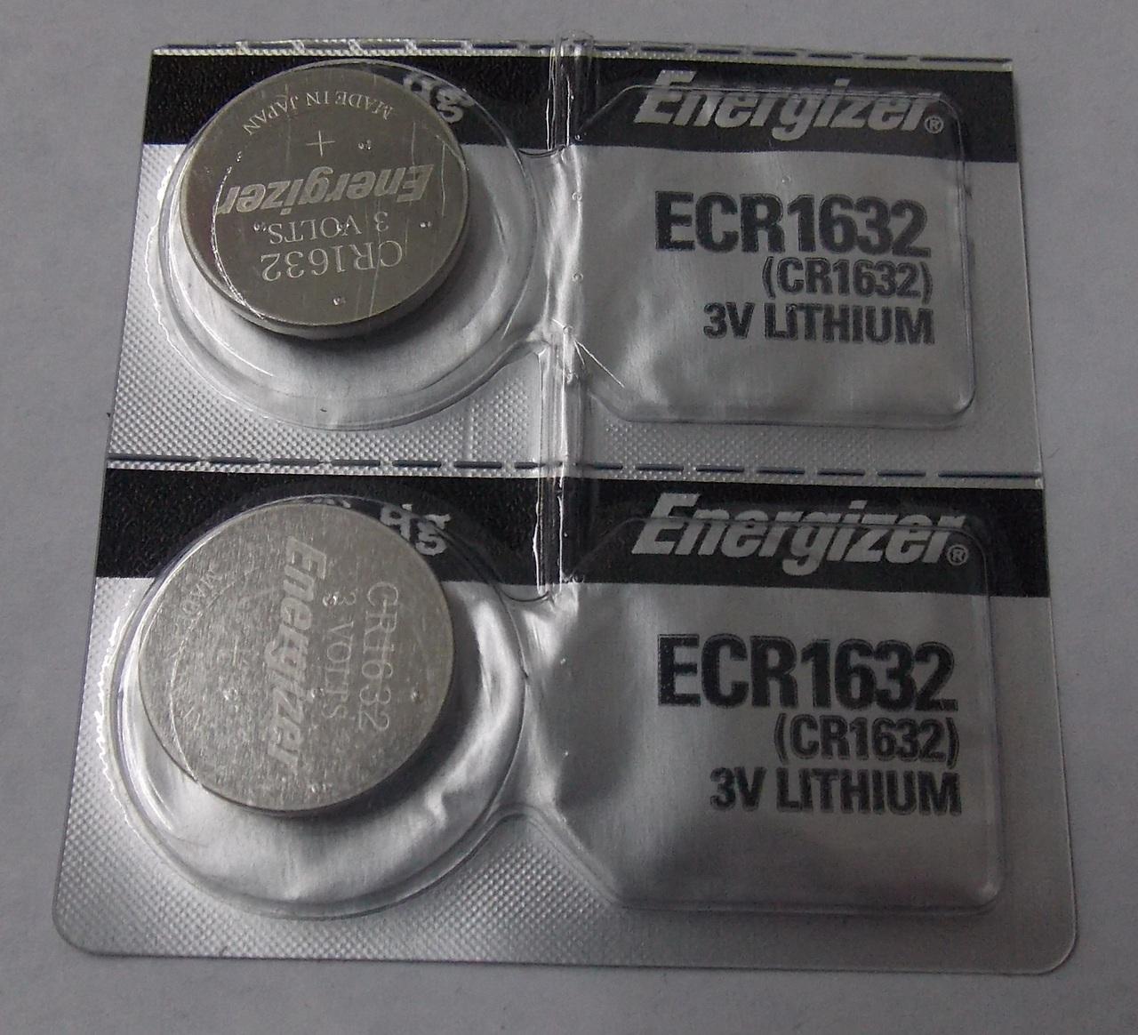 Energizer CR1632 3V Lithium...