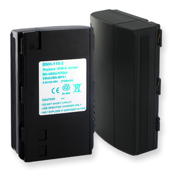 JVC NMH 9.6V 2.0AH Video Battery