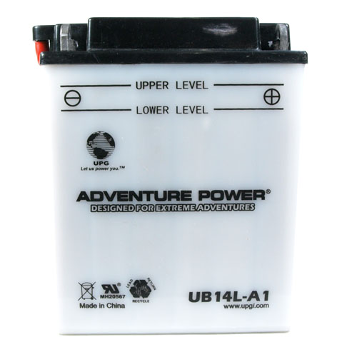 YB14L-A1 12 Volt 14 Amp Hrs Conventional Power Sport Battery