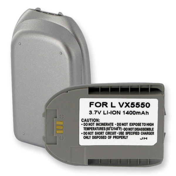LG LX5550 LI-ION 1400mAh Cellular Battery