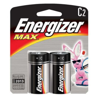 Energizer Max C Size - 2 Pack Retail